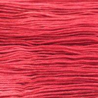 SOCK FINE Carmine Red