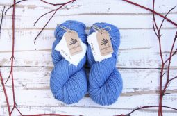 German Merino Indigo Sky Blue