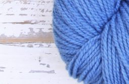 German Merino Indigo Sky Blue zoom