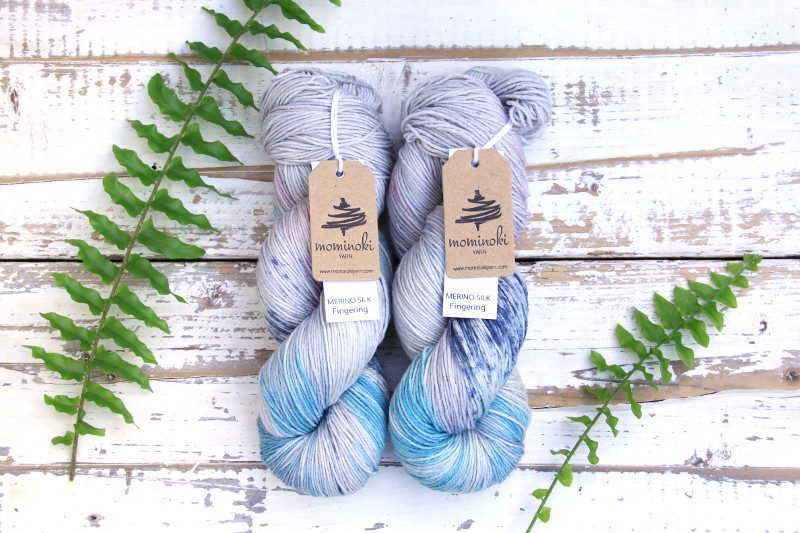 MERINO Silk Norwegian Sky