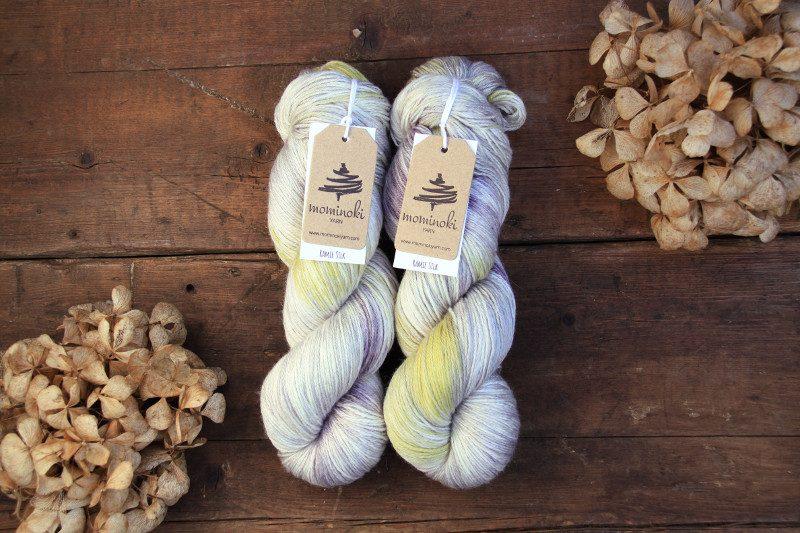 RAMIE Silk - Silver Lining