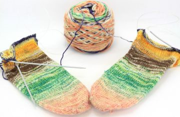 SOCK Canvas Knitting Example