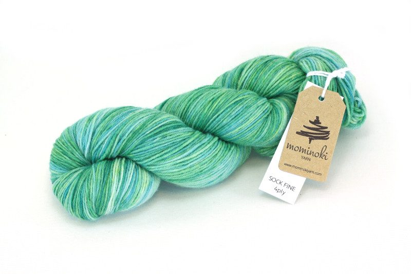SOCK FINE 4ply Emerald