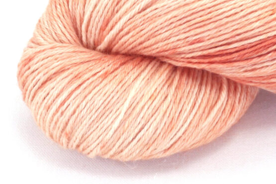 RAMIE SILK Natural - Madder Pink zoom