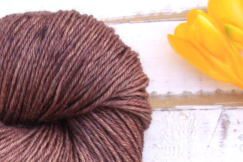 Ramie Silk Natural Chocolate Brown zoom