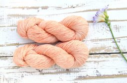 Ramie Silk Natural Madder Pink