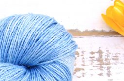 Ramie Silk Natural Sky Blue zoom