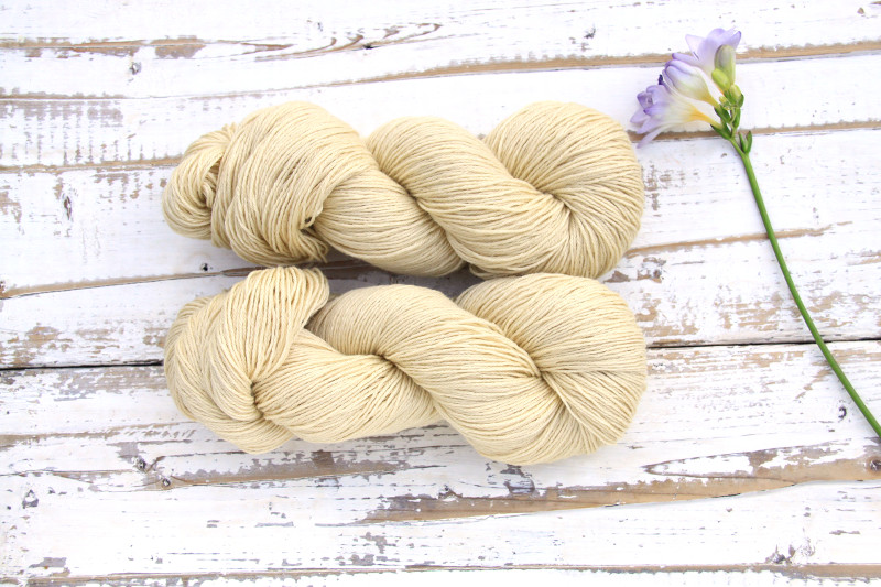 Ramie Silk Natural - Viscum Blonde