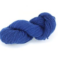 German Merino indigo deep blue