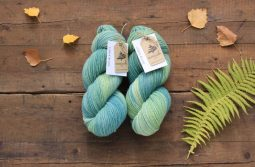 German Merino Indigo Mint