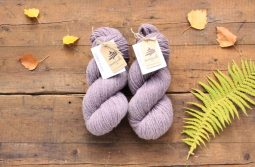German Merino Lac Grey Violet