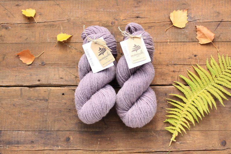 German Merino Lac Grey Violet