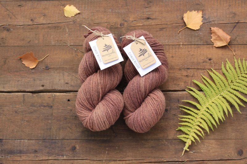 German Merino Madder Rosewood