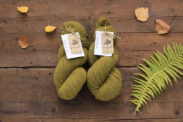 German Merino Onion Olive Green