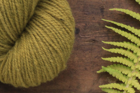 German Merino Onion Olive Green zoom