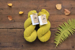 German Merino Onion Smokey Yellow