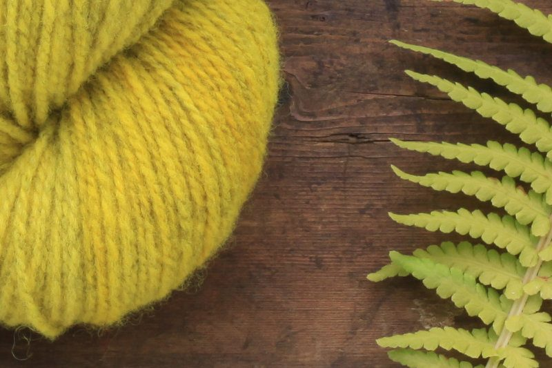 German Merino Onion Smokey Yellow zoom