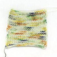 SOCK-FINE 4ply Rainbow Mountain Swatch