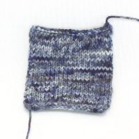 SOCK FINE 4ply Rainy Days Patch