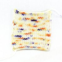 SOCK FINE 4ply Sunny Day Patch
