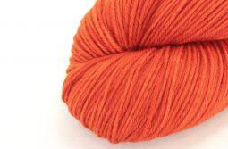 SOCK FINE 4ply Orange Cosmos zoom