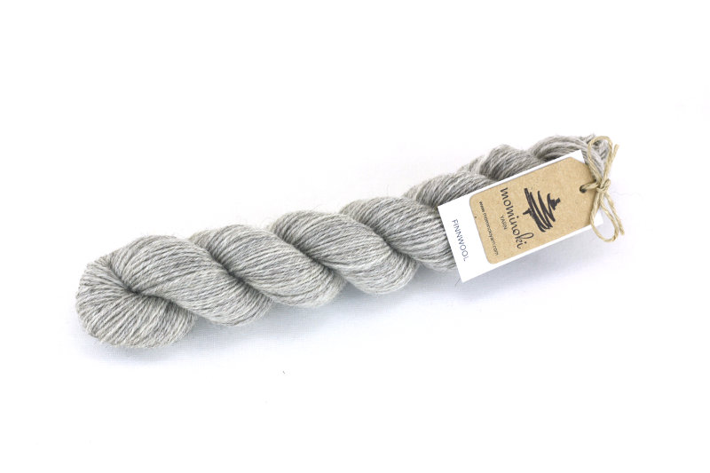 Finnwool Undyed Natural Grey