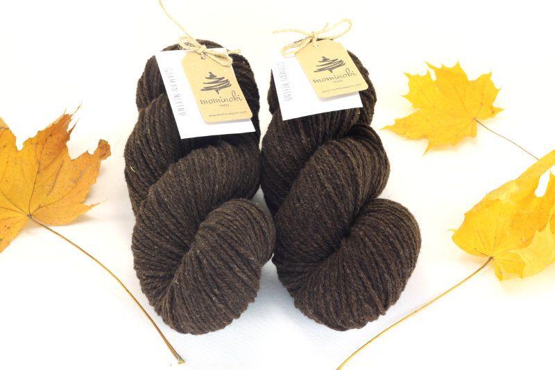 German Merino Dark Brown