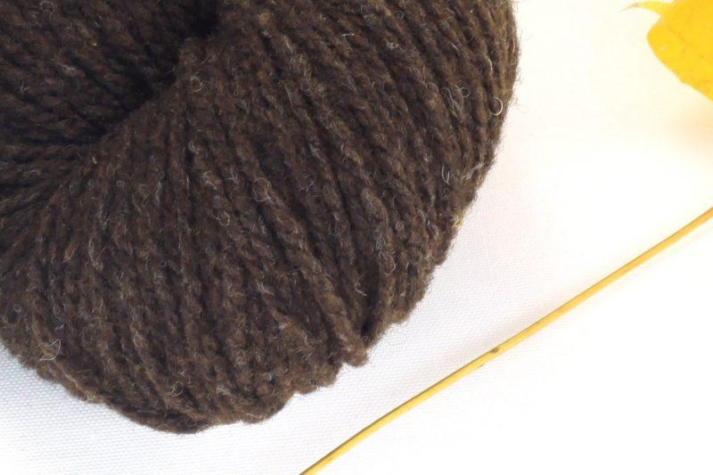 German Merino Dark Brown zoom