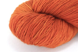 MERINO SINGLE Fingering Orange Cosmos zoom