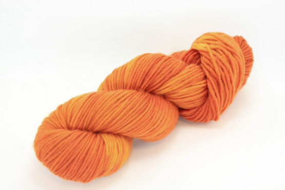 MERINO SINGLE Worsted Orange Cosmos