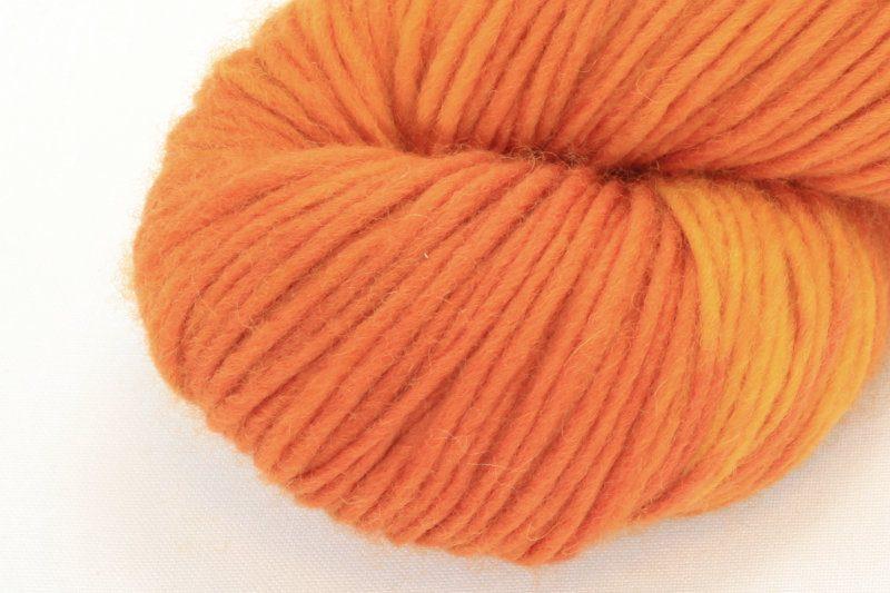MERINO SINGLE Worsted Orange Cosmos zoom