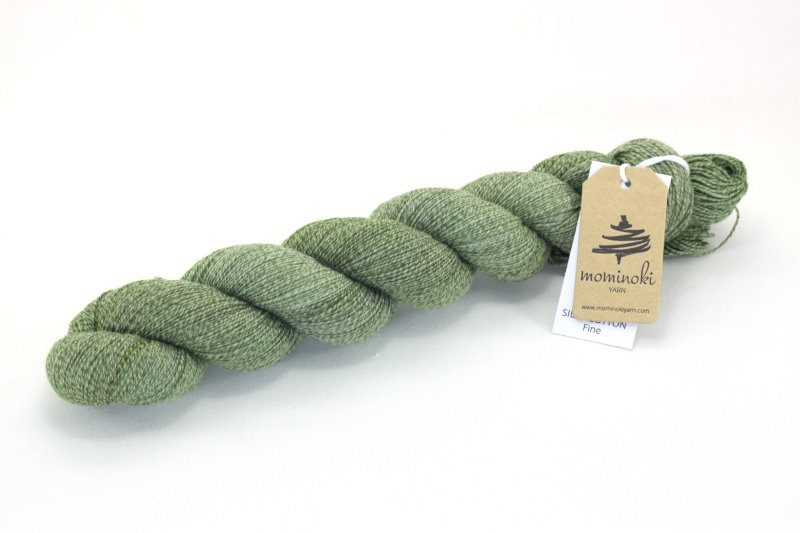 SILKY COTTON FINE - Olive Green