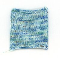 SOCK FINE 4ply Aquarius swatch