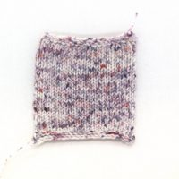 SOCK FINE 4ply Berries and Cream swatch