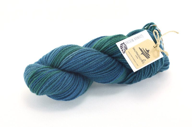 German Merino - Shades of Turquoise #1