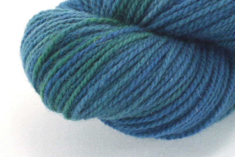 German Merino - Shades of Turquoise #1 zoom
