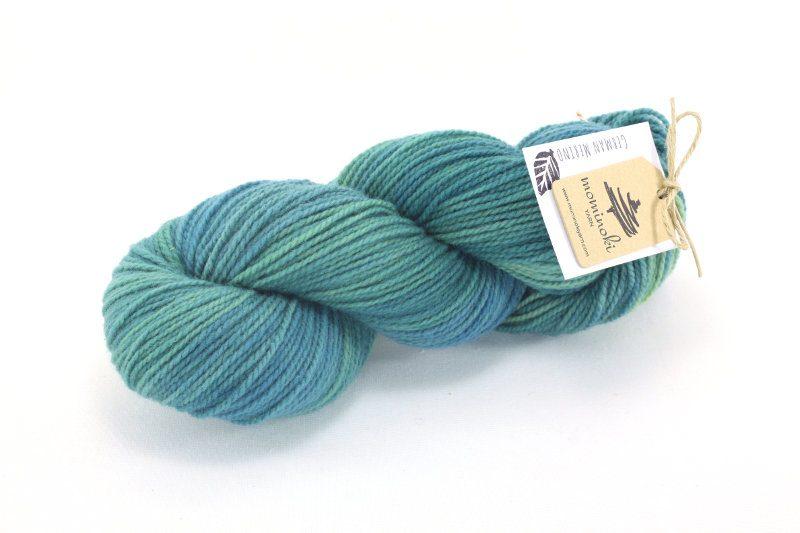 German Merino - Shades of Turquoise #2