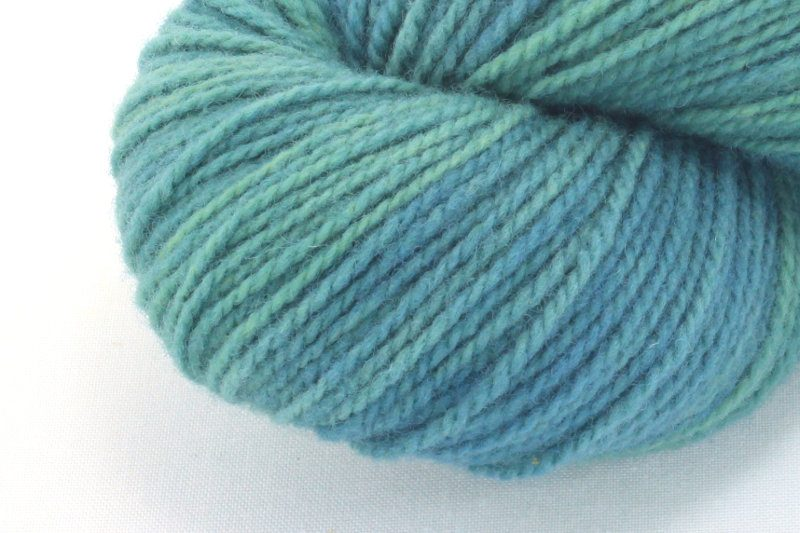 German Merino - Shades of Turquoise #2 zoom