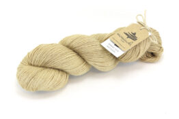 RAMIE SILK NATURAL - Avocado Beige