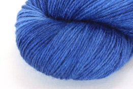 RAMIE SILK NATURAL - Indigo Deep Blue zoom