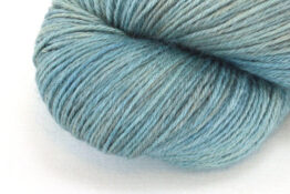 RAMIE SILK NATURAL - Indigo Metallic Green zoom