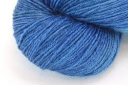 RAMIE SILK NATURAL - Indigo Ocean zoom