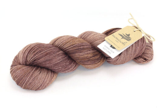 RAMIE SILK NATURAL - Madder Chocolate