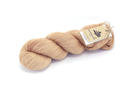 RAMIE SILK Natural - Avocado Bronze