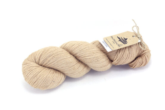 RAMIE SILK Natural - Avocado Pink Gold