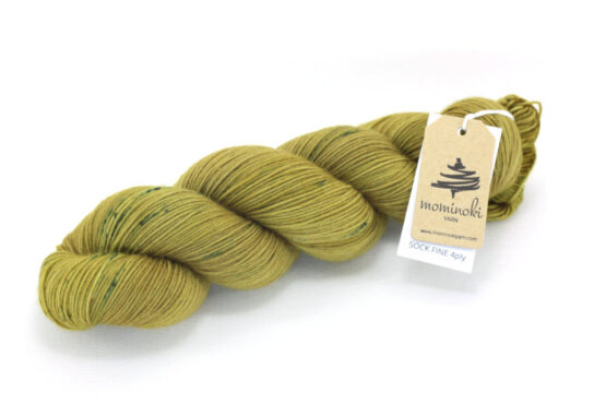 SOCK FINE 4ply - Clay Gold