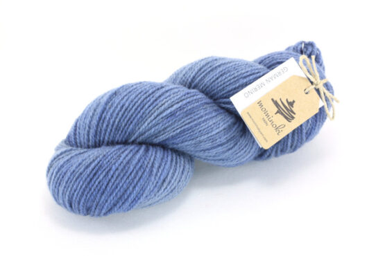GERMAN MERINO - Steel Blue