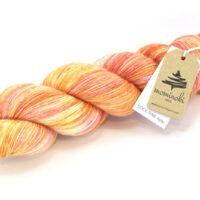 SOCK FINE 4ply - Apricot Fizz