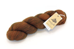 SOCK FINE 4ply - Chestnut