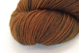 SOCK FINE 4ply - Chestnut zoom